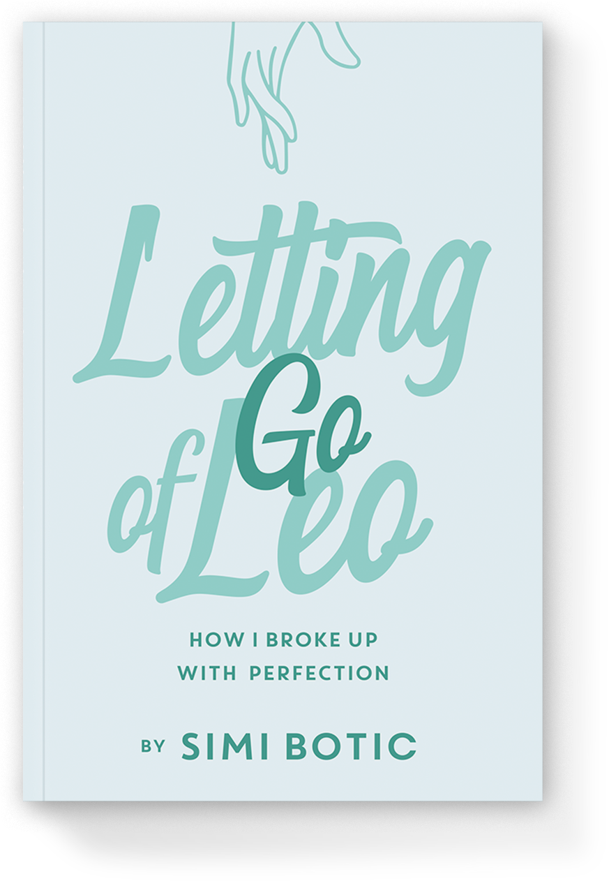 "Book Cover of ""Letting Go of Leo"" by Simi Botic"